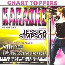 CD Simpson, Jessica Karaoke: With You / I Wanna Love You Forever Karaoke, Single