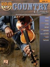Violin Play-Along Country Classics Learn to Play Western Music Book & CD