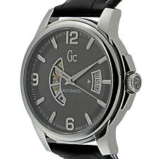 GUESS COLLECTION, SWISS  MEN'S  AUTOMATIC STAINLESS WATCH, X84003G5S, NIB  $650.