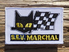 ECUSSON PATCH THERMOCOLLANT aufnaher toppa SEV MARCHAL moto automobile course