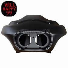 Matte Black Injection ABS Outer Front Fairing for Harley Davidson Road Glide