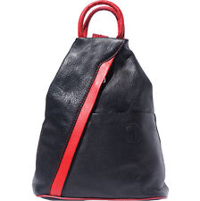 Backpack Purses Bag Italian Genuine Leather Hand made in Italy Florence 2061 bkr