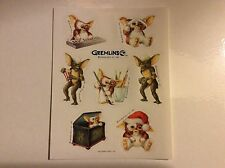 Vintage 80s Hallmark Stickers - Gremlins - Dated 1983 - Mint!!