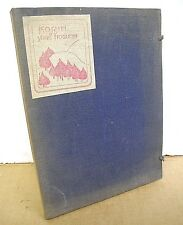 Korin by Yone Noguchi 1922 softcover inside 3-panel hardcover Ltd Edition