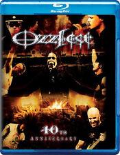 Ozzfest . Ozzy Osbourne Black Sabbath Anthrax HIM Trivium Rob Zombie . Blu-ray