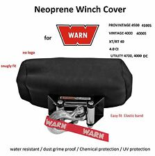 WARN Winch Neoprene Cover Medium for 4000 4500lb PRO Vintage XT RT CI Utility DC