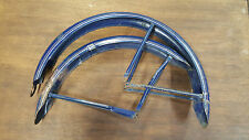 "1940's Monark Super Deluxe Firestone 26"" Bicycle Balloon Tire Fender Set"