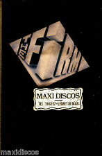 CAS - The Firm - The Firm (Pop Rock) SPANISH EDIT.1985 MINT, SEALED * PRECINTADO