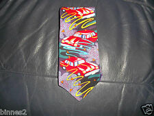 THE BEATLES NECK TIE DRIVE MY CAR 100% SILK  APPLE CORPS LOVELY CONDITION