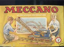 Meccano, manuel  N°1 A  . 1951/52