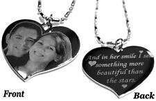 Custom Engraved Stainless Steel Personalized Dog Tag Necklace Free Engraving
