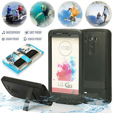 Redpepper Waterproof Shockproof Dirt Snow Proof Stand Case Cover For LG G3 D850