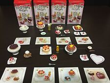 Orcara Miniatures 2009 The Story Of Cakes Mixed Lot Incomplete! EUC Rement Size!
