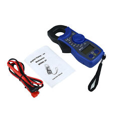 Portable LCD Digital Clamp Multimeter AC DC Volt Voltage Electronic Tester