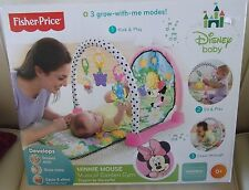 Fisher Price Disney Baby Mini Mouse Musical Garden Gym