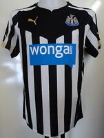 NEWCASTLE UNITED 2014/15 S/S HOME SHIRT BY PUMA ADULTSXL BRAND NEW WITH TAGS