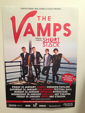 THE VAMPS 2015 Australian Tour Poster A2 Meet Somebody To You Can We Dance *NEW*