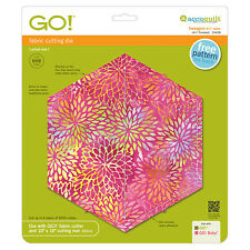 "AccuQuilt GO! Hexagon-4 1/2"" Sides (4 1/4"" Finished) Die 55438 Quilting Sewing"