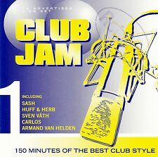 CLUB JAM VOLUME ONE - VARIOUS ARTISTS / 2 CD-SET - NEUWERTIG