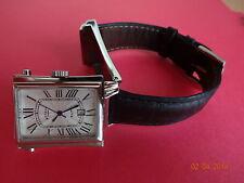 Rotarry Elite  Revolution Men's Watch Dual Dial Reversable Watch,Showerproof .