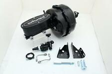 "Black Out Series 9"" Dual Pwr Brake Booster / Wilwood Master Cylinder Assembly"
