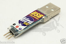 Afro ESC USB RC Speed Controller Programming Tool Software Update Servo Lead NEW