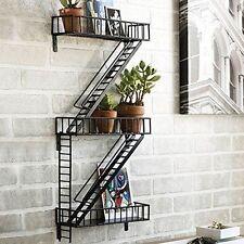 Wall Shelf Decor Display Storage Home Design Shelves Fire Escape Shelving Steel