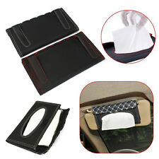 Auto Car sun visor Tissue box holder Paper napkin Case Cover Accessories