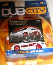 JADA TOYS-DUB CITY IMPORT RACER! : LEXUS  GS430 (white) #37 scale1:64 yr2003