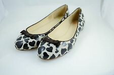 New authentic PAUL SMITH woman beige w/brown leather shoes 36 / US 6 - Amazing!