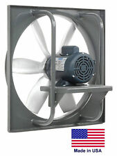 "EXHAUST FAN Industrial - Direct Drive - 18"" - 1/3 Hp - 115/230V - 3,375 CFM"