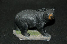 "Black Bear Figurine-- Poly Resin-- 4""L x 1 3/4""W x 3 1/4""H"