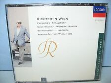 RICHTER IN WIEN, Sviatoslav Richter Vol 1, Yamaha Ctr 1989, 2 CD Set London, New