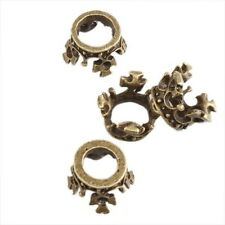 30pcs 141713 Wholesale Charms Alloy Crown Vintage Bronze Pendant Fit Necklace