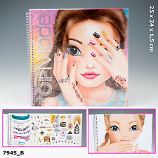 NEW TOP MODEL CREATE YOUR HAND DESIGN COLOURING BOOK