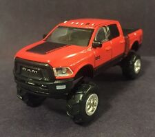 2017 Ram Lifted 4x4 Diesel Truck Custom 1:64 Diecast Diorama Farm Cummins Dodge