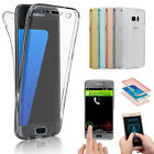 Front+Back Silicone Shockproof 360° Screen Protector Case Cover For Smart Phones