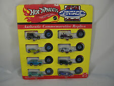 HOT WHEELS 8 CAR VINTAGE COLLECTION 1993 RED BARON TWIN MILL SPLITTIN IMAGE MOC