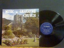 MUSIC IN GRASMERE CHURCH    LP Private pressing Choir Female    Lovely copy !!