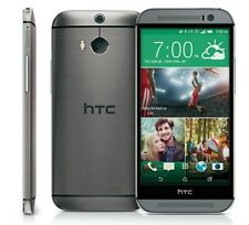 HTC ONE M8 GRAY 32GB Phone for Verizon or Pageplus w/ MMS 4G LTE Lollipop 5.0