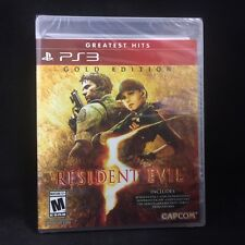 Resident Evil 5: Gold Edition (Playstation 3) Greatest Hits / BRAND NEW