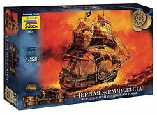 Zvezda 6513 Black Pearl Captain Jack Sparrow Ship Pirates of the Caribbean 1/350