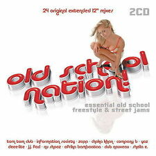 """Old School Nation! by Various Artists (CD, 2005, 2 Discs, Hi-Bias) extended 12"""""""