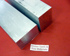 "1"" x 2"" x 8"" FLAT BAR and 1""x 1""x 8"" Square ALUMINUM 6061 T6511 New Mill Stock"