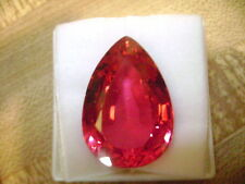 Lab Grown Pear Shape Ruby 7mm x 5mm Lot of 25 Stones