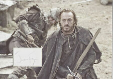 JEROME FLYNN Signed 12x8 Photo Display BRONN In GAME OF THRONES COA
