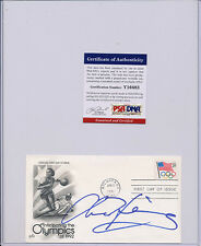 PSA/DNA SIGNED FIRST DAY COVER ANNE HENNING 483