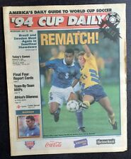 WM - World Cup USA 1994 - Bulgaria - Italy + Sweden - Brazil, 13.07.1994