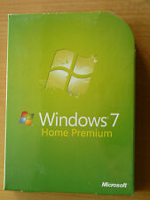 Exempt Postage Microsoft Windows 7 Home Premium 32/64 Bit Full Retail Version