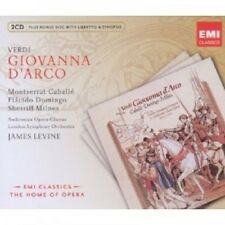 LEVINE/CABALLE/DOMINGO/MILNES/VERDI - GIOVANNA D'ARCO 3 CD NEU OPER